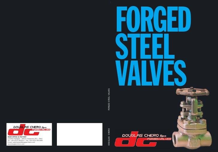 FORGED STEEL VALVES
