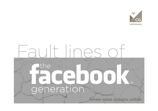Fault lines of   the generation              where value systems collide