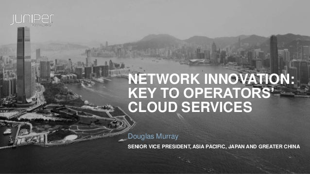 Network Innovation: Key to Operators' Cloud Services