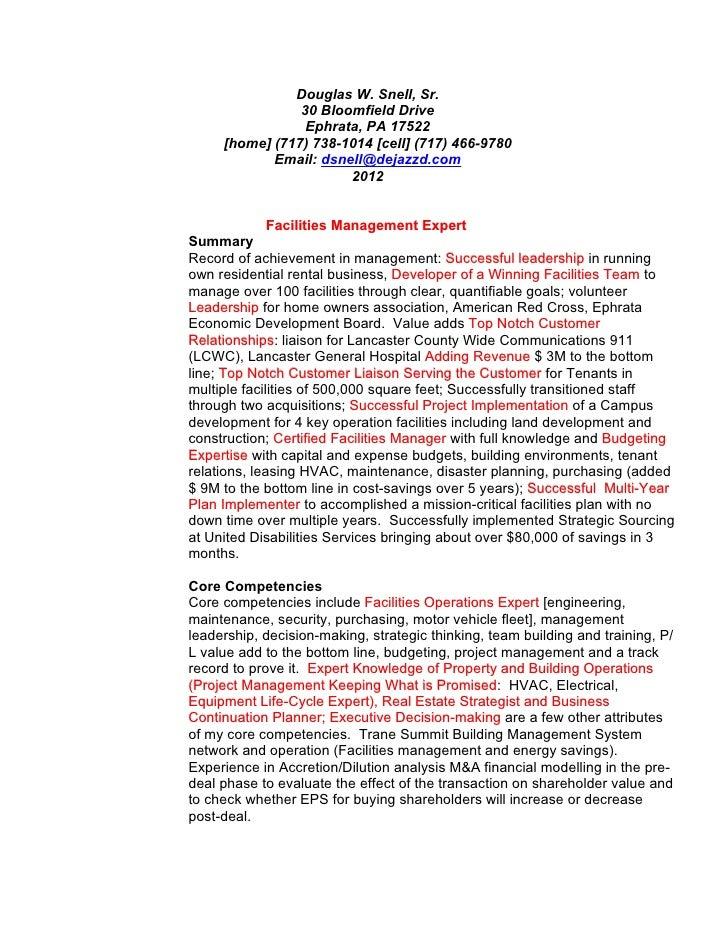 Douglas W. Snell, Sr.                30 Bloomfield Drive                 Ephrata, PA 17522     [home] (717) 738-1014 [cell...