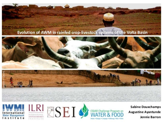 Evolution of Agricultural Water Management in Livestock-Crop Systems in the Volta River Basin