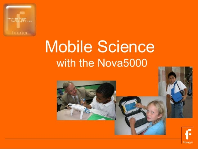 Mobile Science  with the Nova5000