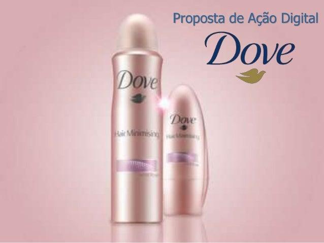Planejamento Digital - Dove Hair Minimising