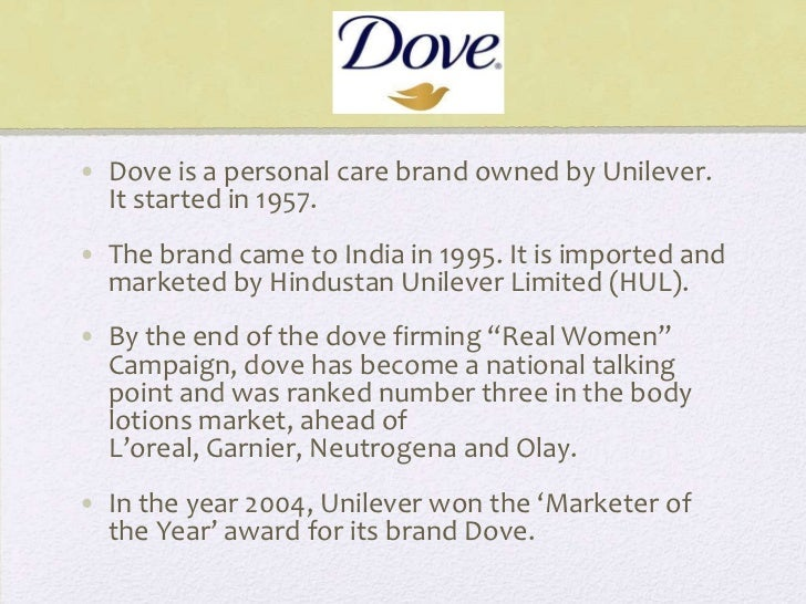 unilever dove marketing essay The local managers were responsible for everything from marketing related essays unilever org structure unilever strategy for a case study on dove of unilever.