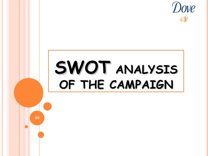 dove swot Includes a swot on doves real beauty campaign.