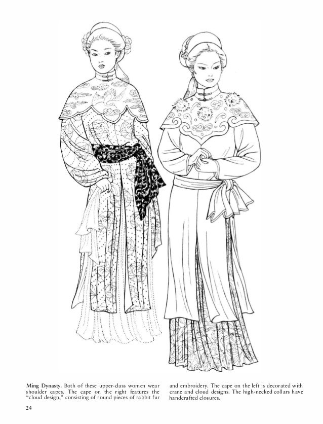 Dover Chinese Fashions Pdf