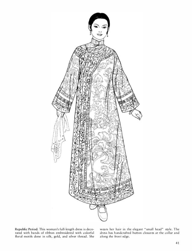 Colonial Fashion Coloring Pages Coloring Pages
