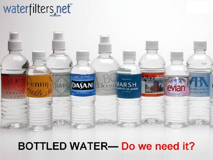 Do We Really Need Bottled Water?