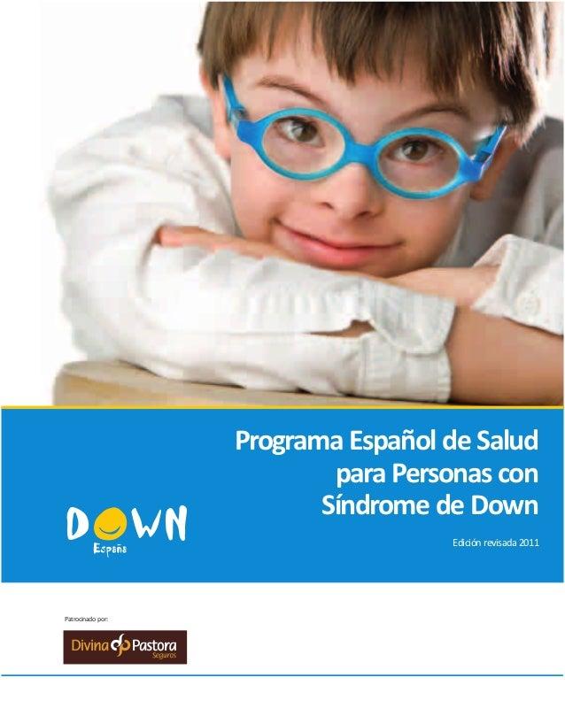 Programa de Salud. Down