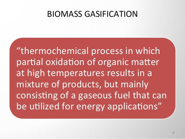 Biomass gasification phd thesis