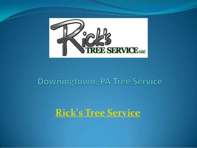 Rick's Tree Service