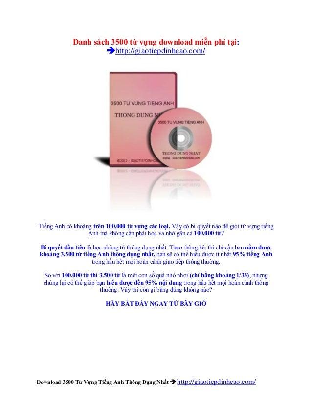 Share 3000 từ vựng anh việt độc quyền – Sản phẩm 3500 từ vựng oxford kinh điển 2013 -Download 3500 Từ Vựng Tiếng Anh Thông...