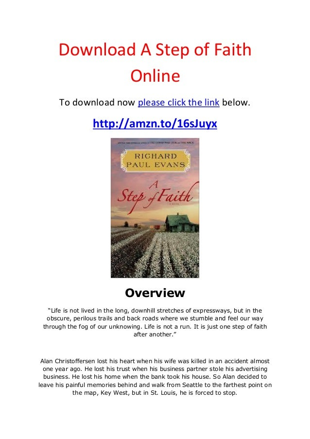 Download  a step of faith online
