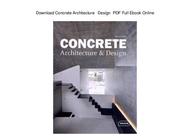 architecture design pdf ebook