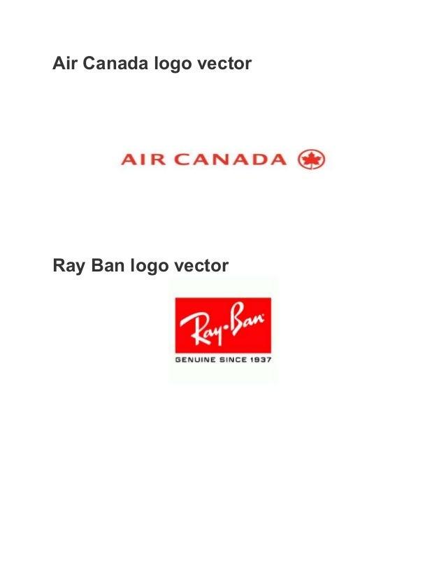 Ray Ban Logo Vector Air Canada Logo Vector Ray Ban