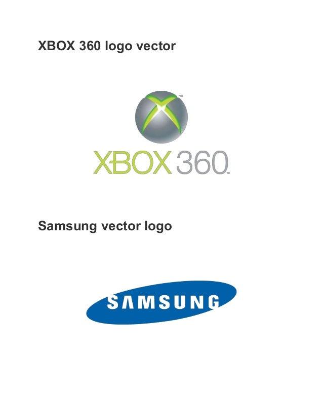 Xbox 360 Logo Vector