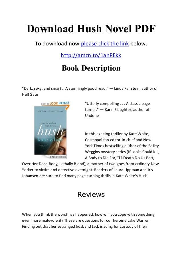 download hush novel pdf
