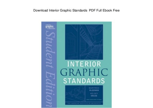 Download interior graphic standards pdf full ebook free - Interior graphic and design standards ...