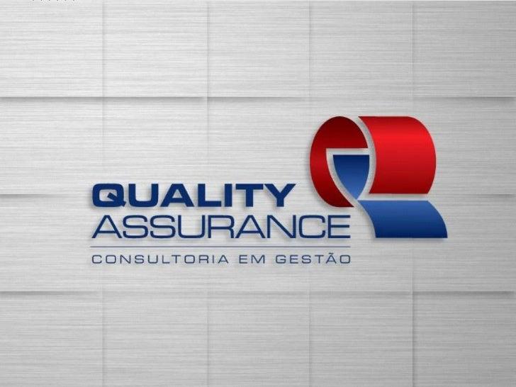 Apresentação Institucional Quality Assurance