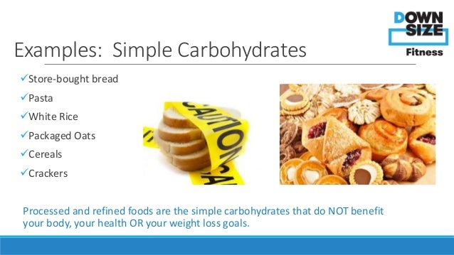 3 Examples Of Simple Carbohydrates