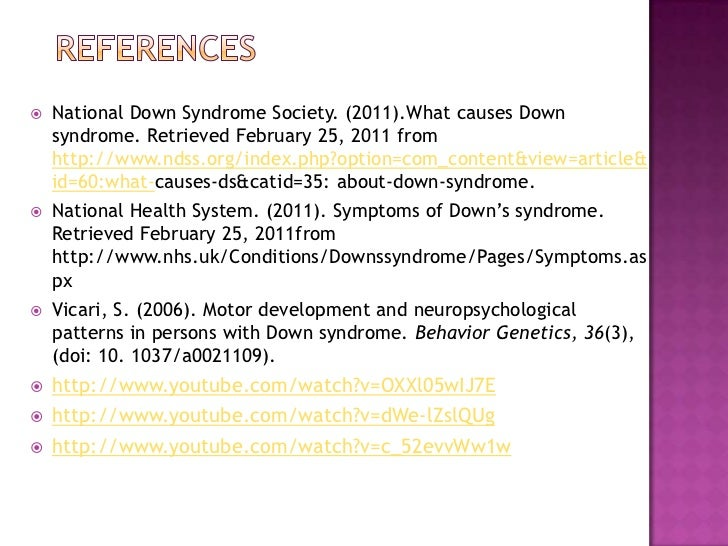 Free essay about down syndrome