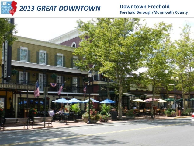 2013 Great Downtown - Downtown Freehold (Freehold Borough, Monmouth County)