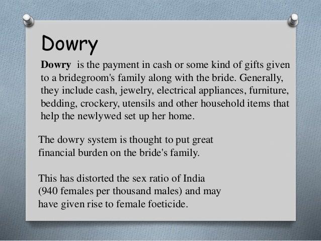 dowry a social evil essay