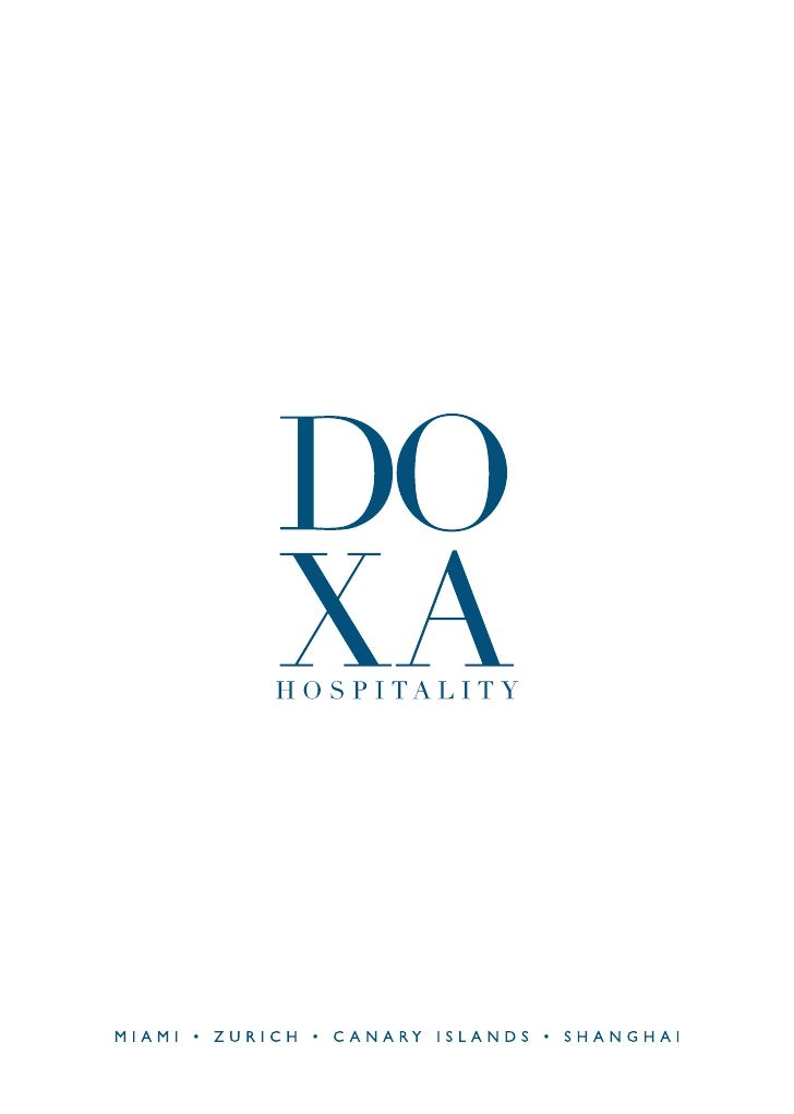 DOXA HOSPITALITY provides turn-key furnituresolutions for the hospitality industry. Throughinnovative and unparalleled sol...