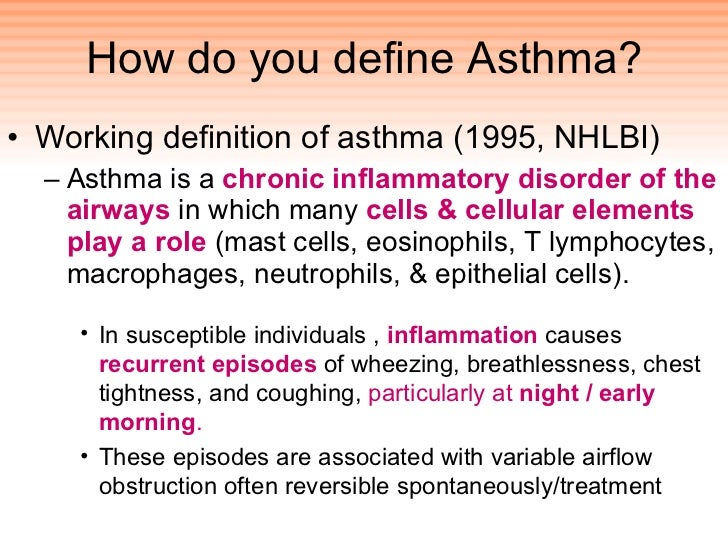the clinical description of asthma Uptodate, electronic clinical resource tool for physicians and patients that provides information on adult primary care and internal medicine.
