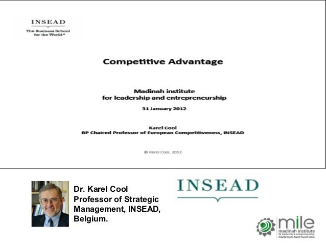 Do you have a competitive advantage and how sustainable is it