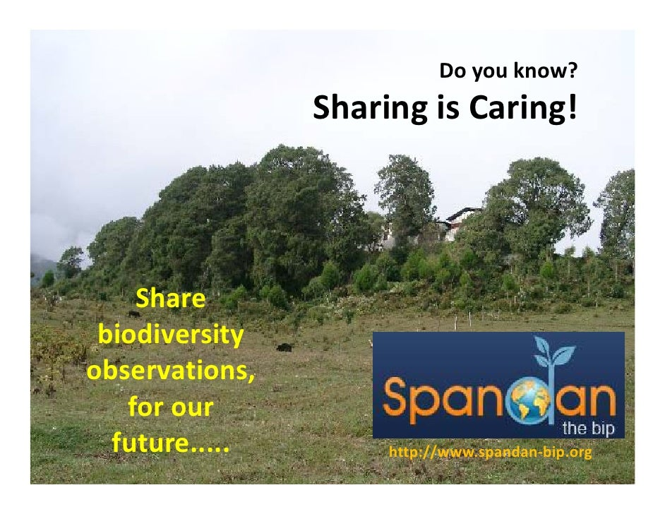 Doyouknow?                  SharingisCaring!                   h i i        i !         Share     Sh  biodiversity o...