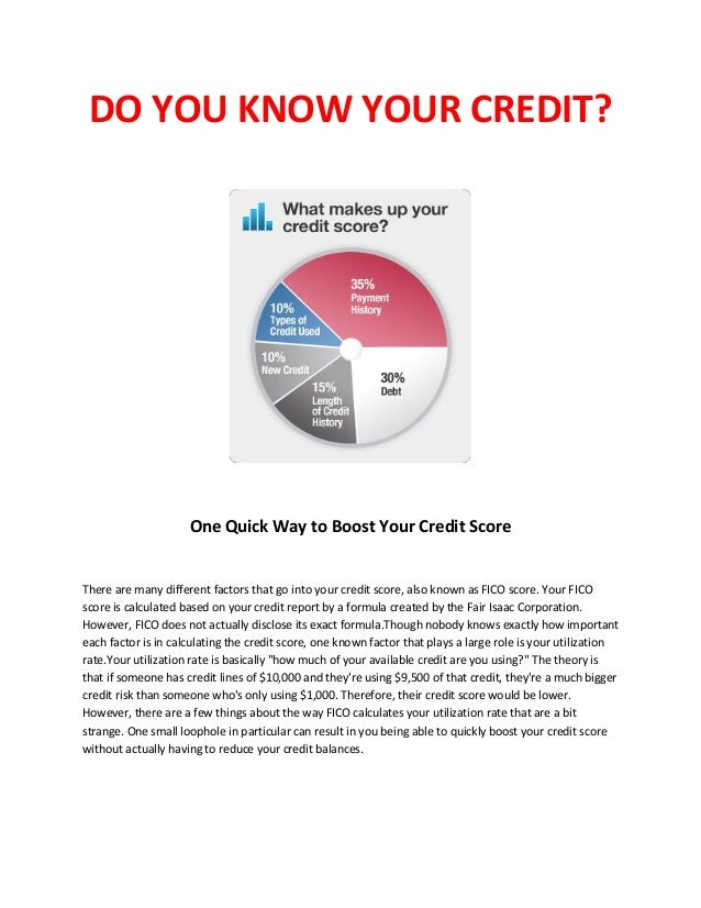 Do You Know What Your Credit Means? Tips To Improve Your Credit Score