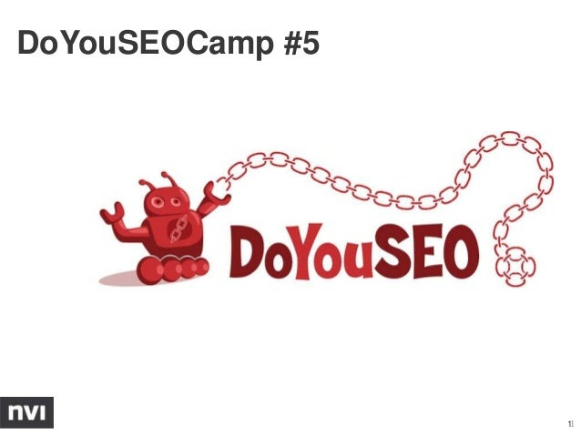 DoYouSEOCamp #5                  11
