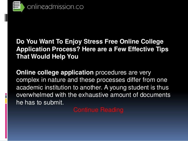 College Application Process...Help!!!?