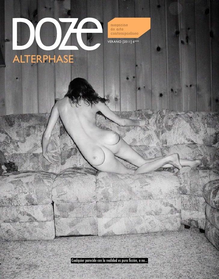 DOZE Magazine AlterPhase Número 6   Verano 2011