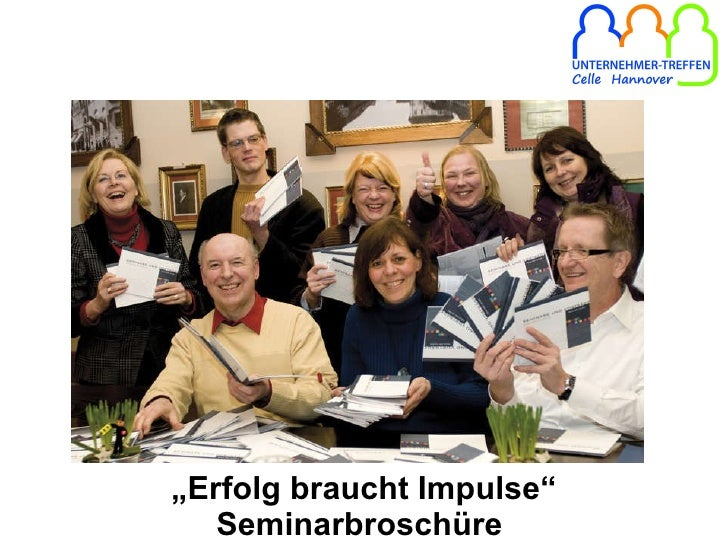 """ Erfolg braucht Impulse"" Seminarbroschüre"