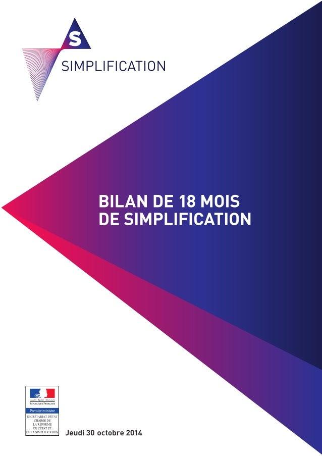02Bilan de 18 mois de simplification - Cahier des entreprises