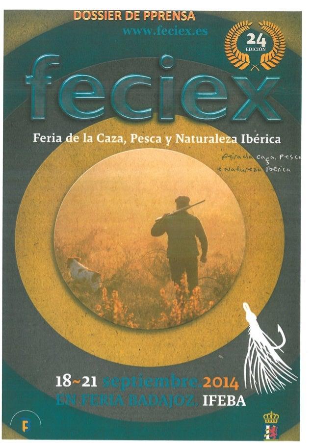 DOSSIER DE PRENSA FECIEX 2014