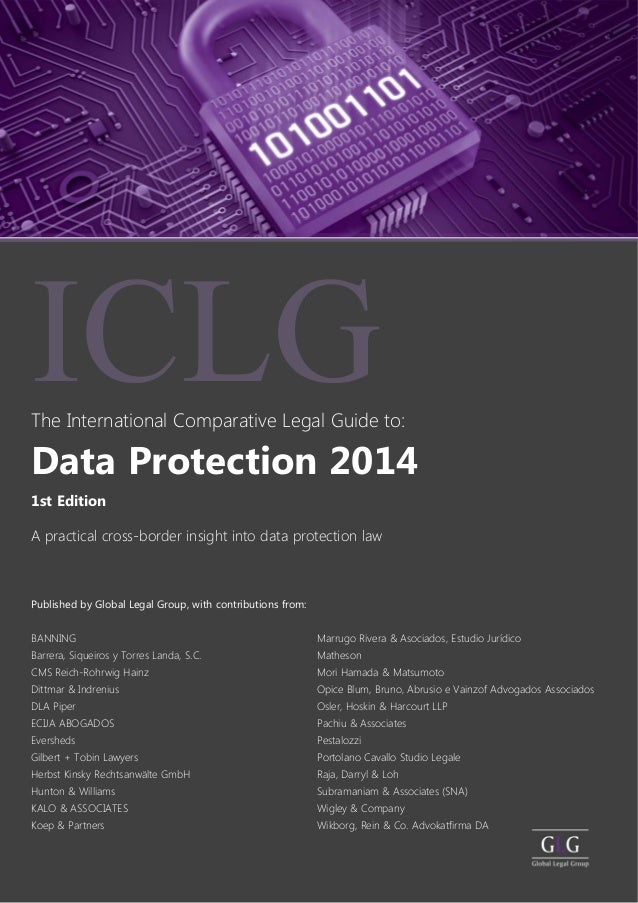 Data Protection 2014 The International Comparative Legal Guide to: BANNING Barrera, Siqueiros y Torres Landa, S.C. CMS Rei...