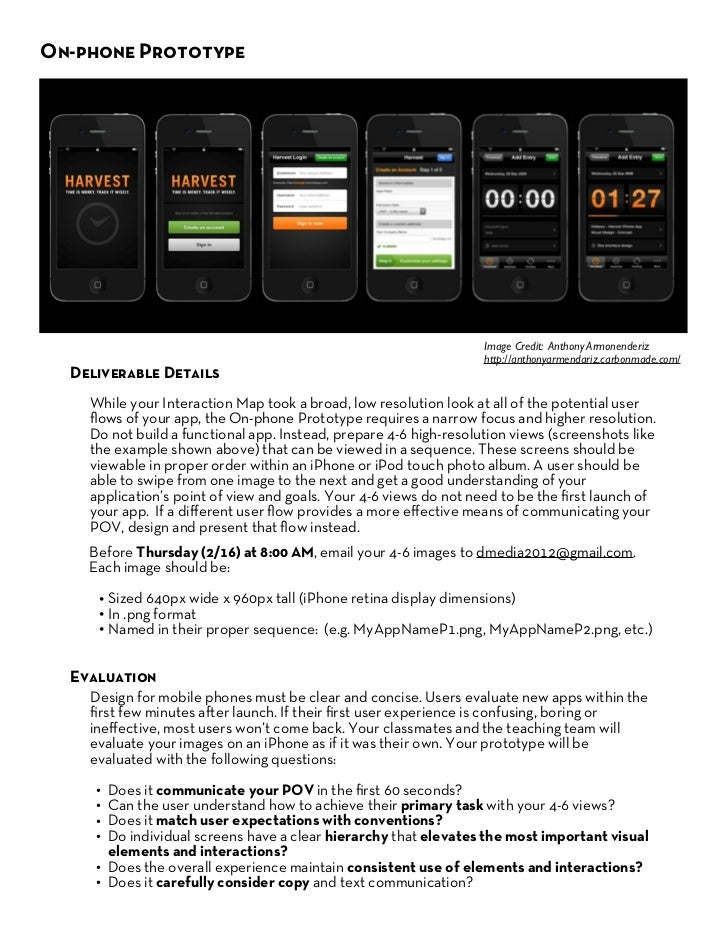 On-phone Prototype                                             Examples                                                   ...