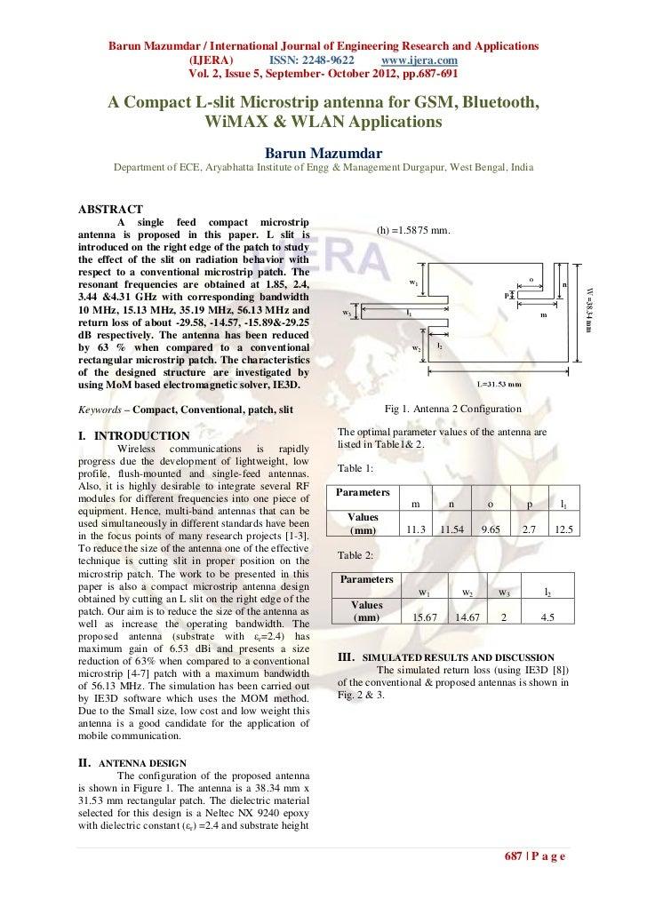 Barun Mazumdar / International Journal of Engineering Research and Applications                   (IJERA)           ISSN: ...