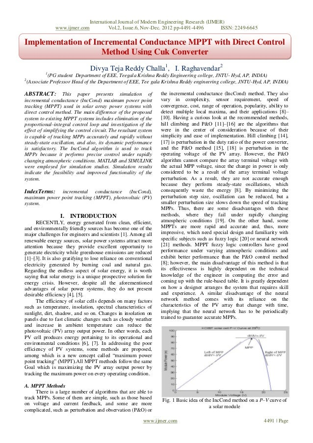 International Journal of Modern Engineering Research (IJMER)                www.ijmer.com         Vol.2, Issue.6, Nov-Dec....