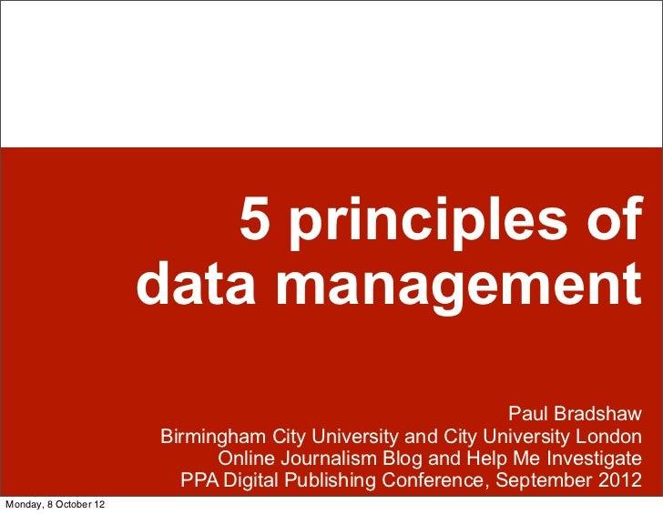 principles of data management pdf