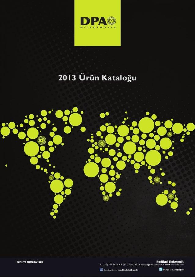 Dpa microphones 2013 katalogu