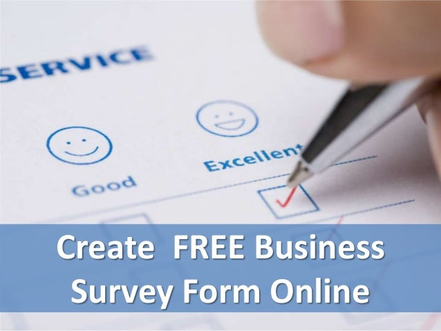 Create a FREE Survey Form Online