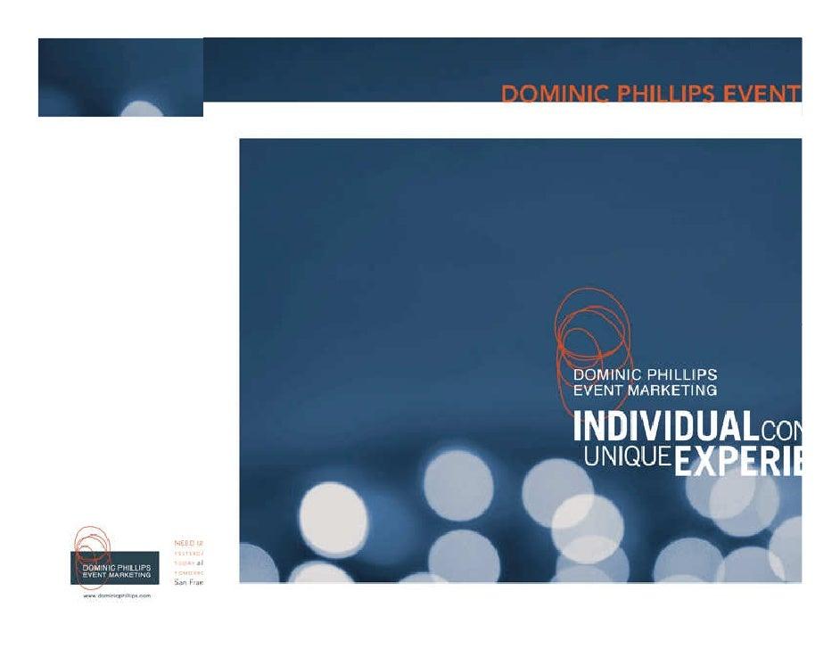 Dominic Phillips BNI Embarcadero Presentation (07/08/09)
