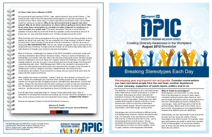 An Open Letter from a Member of DPIC                As a proud and loyal member of DPIC, I take vested interest in this mo...