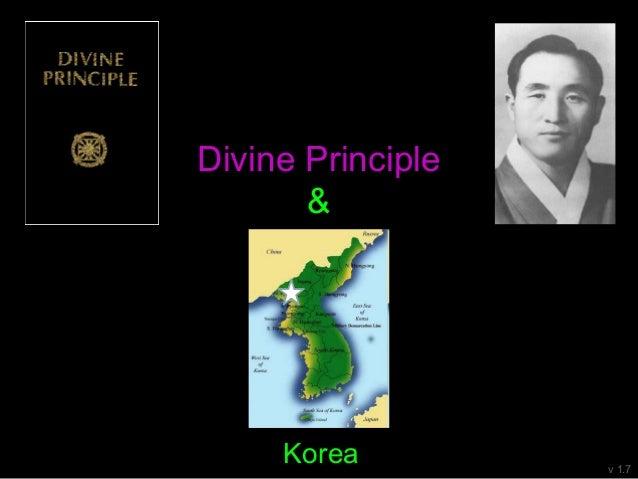 Divine Principle & v 1.4 Korea