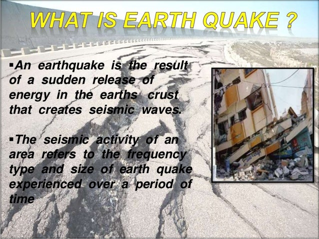 earthquake and its effect essay Cause & effect essay: tsunamis  and the bigger the earthquake the larger the results a tsunami is, in essence, an enormous wave or, to be more specific, a .