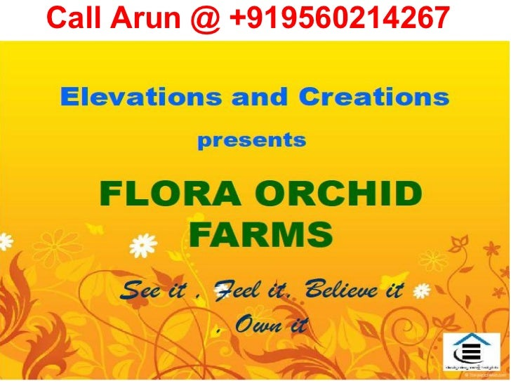 DPL Flora Orchid Farms Noida Farmhouse Scheme 2010 Noida Authority Greater Noida Delhi NCR For Sale Buy Gurgaon